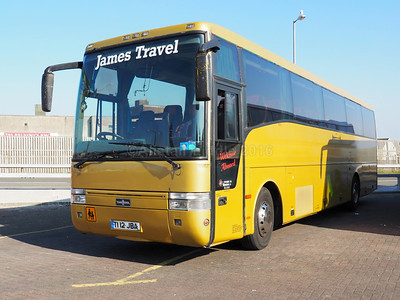 James Travel, Abercynon Volvo B10M Van Hool Alizee T9  T112 JBA (1)