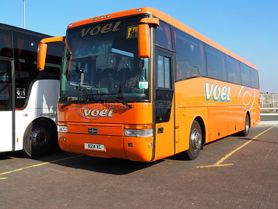 Voel Coaches, Dyserth Van Hool Alizee T9 8214 VC (1)