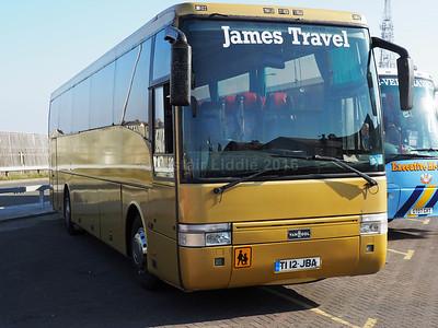 James Travel, Abercynon Volvo B10M Van Hool Alizee T9  T112 JBA (2)