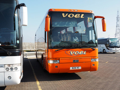 Voel Coaches, Dyserth Van Hool Alizee T9 8214 VC (2)