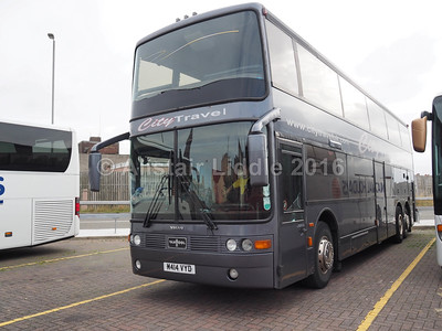 City Travel Yorkshire, Keighley Volvo B12(T) Van Hool Astrobel M414 VYD (3)