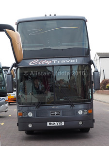 City Travel Yorkshire, Keighley Volvo B12(T) Van Hool Astrobel M414 VYD (1)