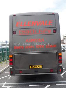 Ellenvale, Aspatria, Volvo B10M Plaxton Premier 350 M38 KAX (3)