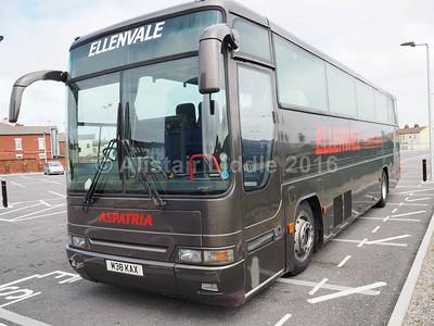 Ellenvale, Aspatria, Volvo B10M Plaxton Premier 350 M38 KAX (2)