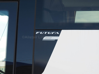 Dewar's Coaches, Falkirk VDL Bova Futura HD SF16 KVA badging