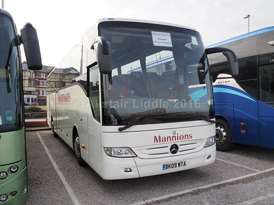 Mannion Travel, Leeds Mercedes-Benz Tourismo BK09 WTA (2)