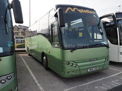 Mainline Coaches, Gilfach Goch Scania K114EB4 Berkhof Axial YN06 CHD (2)