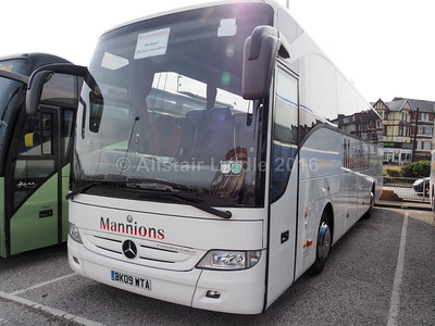 Mannion Travel, Leeds Mercedes-Benz Tourismo BK09 WTA (1)