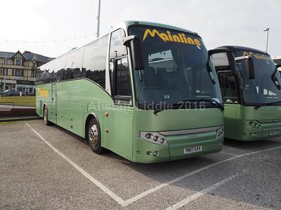 Mainline Coaches, Gilfach Goch Scania K380EB4 Berkhof Axial YN07 EXV (2)