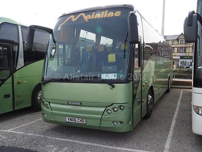 Mainline Coaches, Gilfach Goch Scania K114EB4 Berkhof Axial YN06 CHD (1)