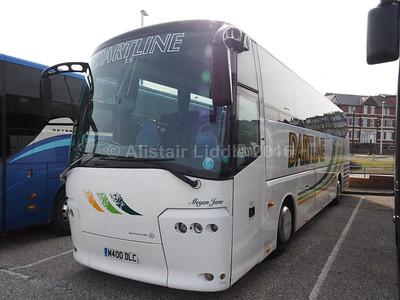 Dartline Coaches, Exeter Bova Futura 2 M400 DLC (1)