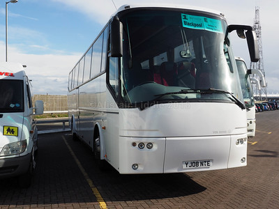 Hammonds Coaches, Nottingham Bova Futura YJ08 NTE (2)