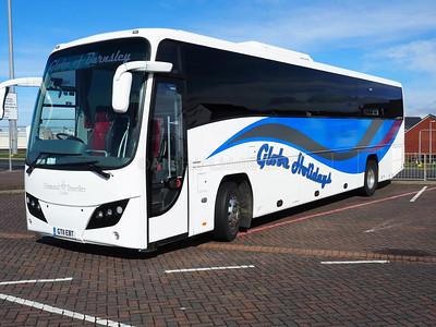 Globe Holidays, Barnsley Volvo B9R Plaxton Panther 2 GT11 EBT (1)