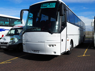 Hammonds Coaches, Nottingham Bova Futura YJ08 NTE (1)