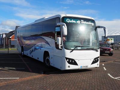 Globe Holidays, Barnsley Volvo B9R Plaxton Panther 2 GT11 EBT (2)