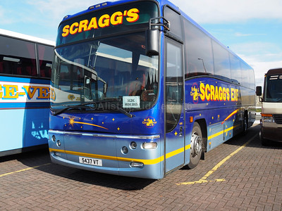 Scraggs, Stoke-on Trent Volvo B10M Plaxton Panther (1)