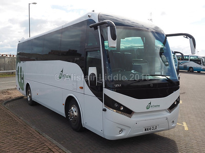Mint Coaches, London MAN A67 Unvi Touring GT WA14 CLO (2)