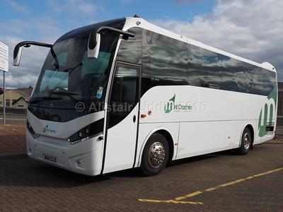 Mint Coaches, London MAN A67 Unvi Touring GT WA14 CLO (1)