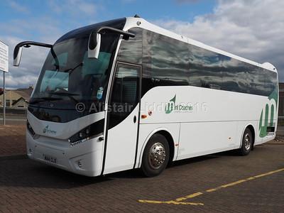 Mint Coaches, London MAN A67 Unvi Touring GT WA14 CLO (1)