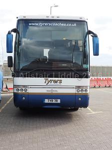 Tyrers, Adlington VDL SB4000 Van Hool Alizee T9 TYR 7R (1)