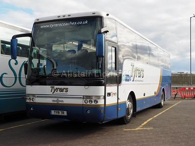 Tyrers, Adlington VDL SB4000 Van Hool Alizee T9 TYR 7R (2)