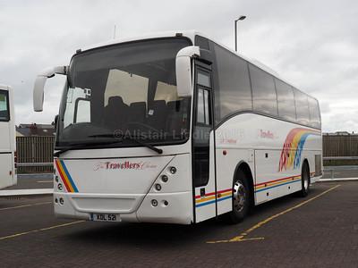 Travellers Choice, Carnforth Volvo B12B Jonckheere Mistral XDL 521 (1)