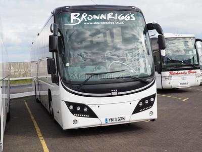 Brownrigg, Egremont Volvo B9R Plaxton Panter 2 YN13 GXM (1)