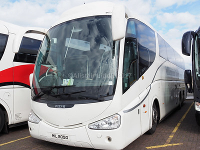 Millennium International Travel, Magherafelt, Ulster, Scania K124EB6, Irizar PB MIL 9050 (2)