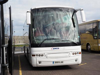 Jones Executive Coaches, Manchester Irisbus, Beulas 555 LJX (1)
