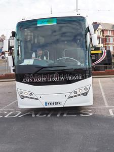 John James Luxury Travel, Dagenham Volvo B9R Plaxton Panther 3 YX14 SFK (2)