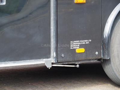 Allander Travel, Mingavie, Bova Futura 4143 AT legal lettering