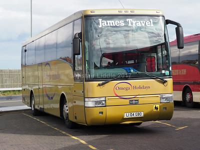 James Travel. Abercynon DAF SB3000 Van Hool Alizee T9 (1)