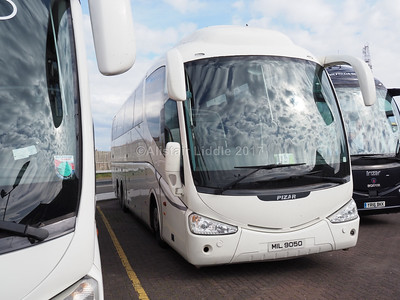 Millennium International Travel, Magherafelt, Ulster, Scania K124EB6, Irizar PB MIL 9050 (1)