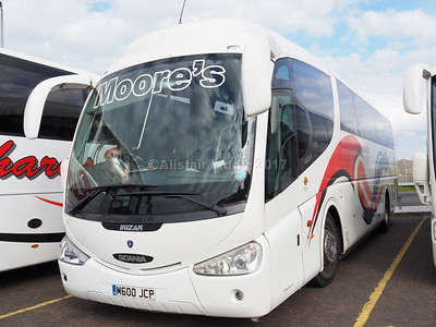 Moore's, Middlewich, Scania K124 Irizar PB M600 JCP (1)