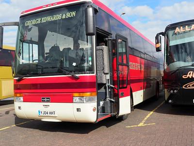 George Edwards & Son, Wrexham Van Hool Alizee T9 YJ04 HHT (2)