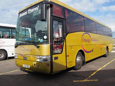James Travel. Abercynon DAF SB3000 Van Hool Alizee T9 (2)