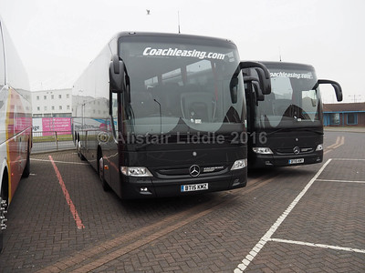 Coach Leasing, Nuneaton Mercedes- Benz Tourismo BT15 KMZ & KMY