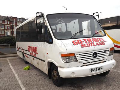 Go-Travel Scotland, Carnwath, Lanarkshire Mercedes-Benz Vario Mellor SG52 VFN (2)