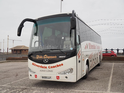 Silverdale Coaches, Motherwell King Long XMQ6127 BX09 LLF (2)