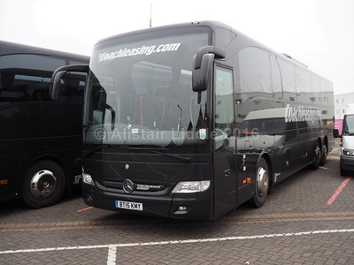 Coach Leasing, Nuneaton Mercedes- Benz Tourismo BT15 KMY (2)