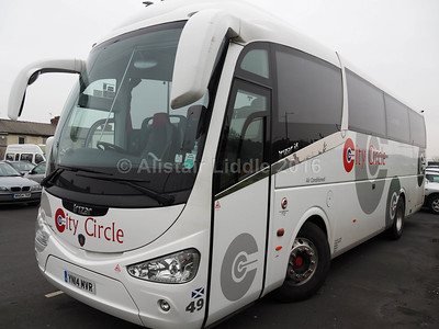 City Circle, Edinburgh Scania Irizar i6 49 YN14 MVR (2)
