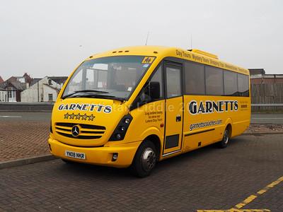 Garnetts, Bishop Auckland Mercedes-Benz Vario Plaxton Cheetah (1)