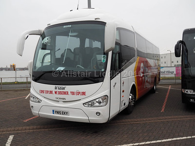 Harry Shaw. Coventry Scania Irizar i6 YN15 EKY (2)
