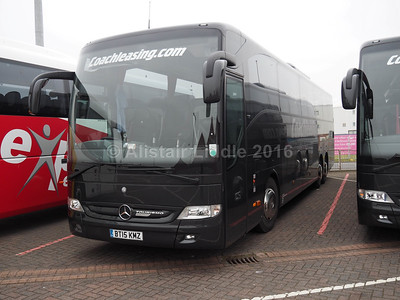 Coach Leasing, Nuneaton Mercedes- Benz Tourismo BT15 KMZ (2)