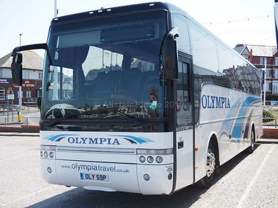 Olympia Travel, Wigan Van Hool Alizee T9 OLY 59P (2)