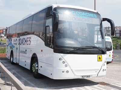 A & C Coaches, Motherwell Volvo B12B Jonckheere Mistral V27 BUS (3)