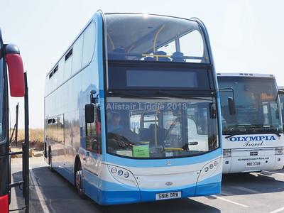 Dewhirst Coaches, Bradford ADL Enviro 400 SN16 ORW (1)