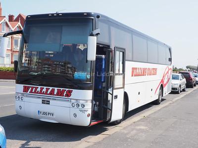 Williams Coaches, Bradford Van Hool Alizee T9 YJ05 PYV