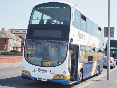 Tyrers, Adlington Volvo B9TL Wright Gemini MX07 BVF (3)