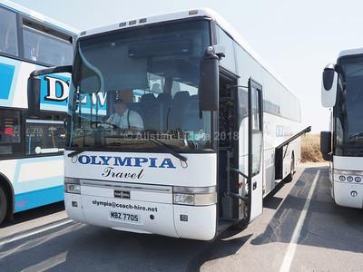Olympia Travel, Wigan Van Hool Alizee T9 MBZ 7705 (1)